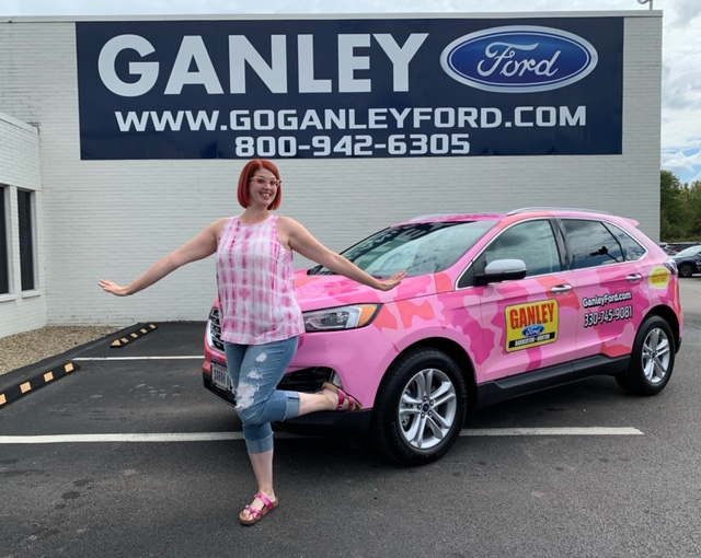 Ganley Ford Barberton >> Meet The New Ganley Pink Camo Mobile Sarah Kay